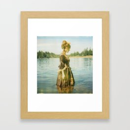 kudapola 128, I have forgotten your face... Framed Art Print
