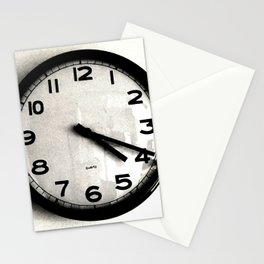 Four Nineteen Clock Stationery Cards