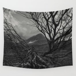 The web of winter Wall Tapestry