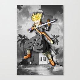 Trunks Dragon Ball Canvas Print