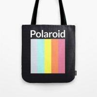 polaroid Tote Bags featuring Polaroid by Good Sense