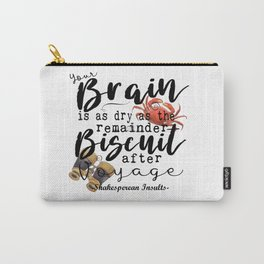 Biscuit Brain Carry-All Pouch