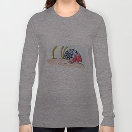 Sid the Homeless Hermit Crab Long Sleeve T-shirt