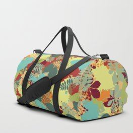 Colors of Autumn- Green Duffle Bag