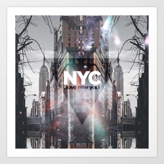 NYC - I Love New York 3 Art Print