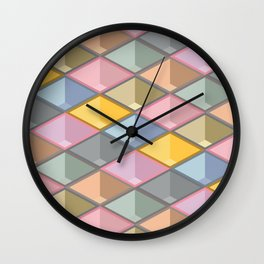 3D iso graphic Wall Clock