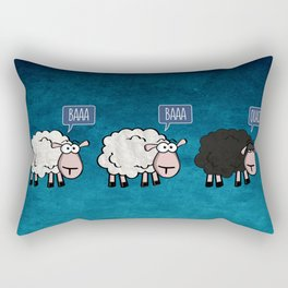 Bored Sheep Rectangular Pillow