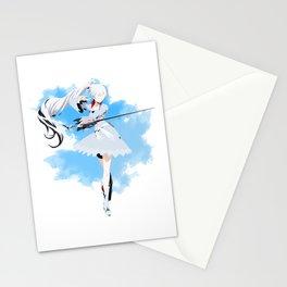 RWBY Minimalist (Weiss Schnee) Stationery Cards