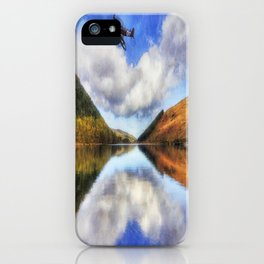 Spitfire Lake Flight iPhone Case