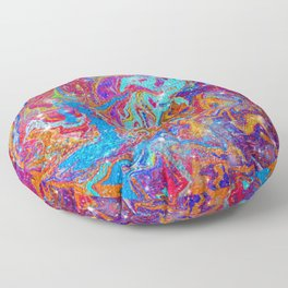 Psychedelic Wasteland Floor Pillow