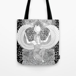 Egypian geometry 3 Tote Bag
