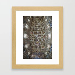 Sistine Chapel  Framed Art Print