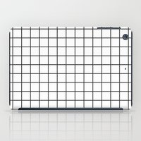 grid iPad Cases featuring GRID by Anna Lindner