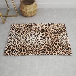 Wild Leopard Rug