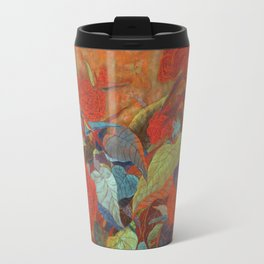 flower3【Japanese painting】 Travel Mug