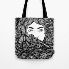 Flowing hair Tote Bag