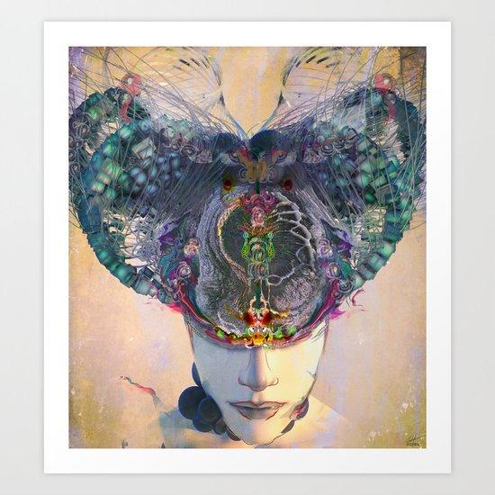 Vajra Mind Art Print