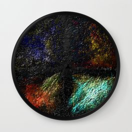 Decomposed Humanity Wall Clock