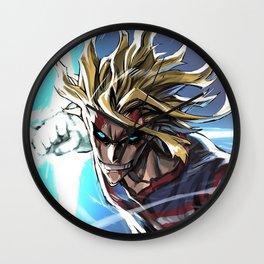 All Might, My Hero Academia Wall Clock