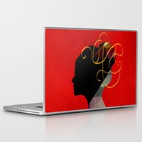 redhead Laptop & iPad Skins featuring Redhead by John Murphy