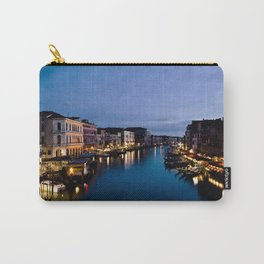 Amazing  Venice  Italy  travel  wanderlust, blue sea canals, night in Venice   canal  bridge  tour Carry-All Pouch