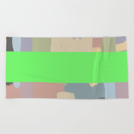 Abstract Painting No. 15 Beach Towel