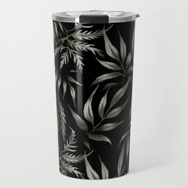 Brooklyn Forest - Black Travel Mug