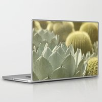 cactus Laptop & iPad Skins featuring Succulent by Pure Nature Photos
