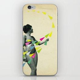 She's a Whirlwind iPhone Skin