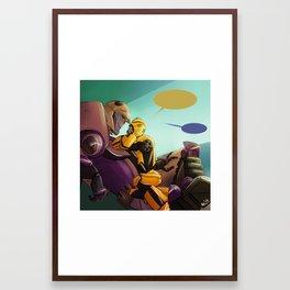 Comfy Framed Art Print