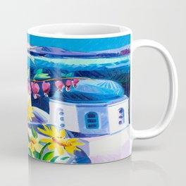 Santorini churches Coffee Mug