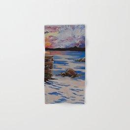 Georgian Bay Sunset - Part 2 Hand & Bath Towel