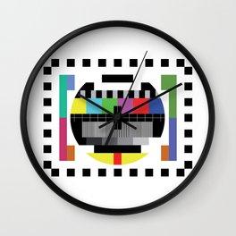 Mire - Testcard - Big Bang Theory Wall Clock