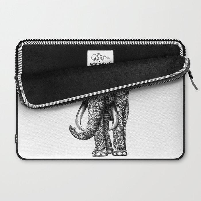 Ornate Elephant Laptop Sleeve
