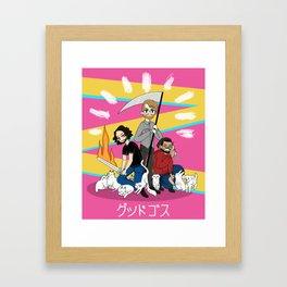 Boiz Framed Art Print