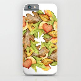 Oak and Maple iPhone Case