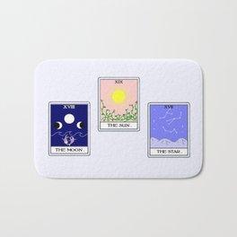 Trio of Tarot Bath Mat