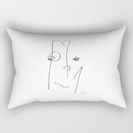 Demeter Moji d7 3-1 w Rectangular Pillow