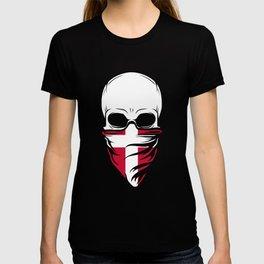 Denmark Skull Tshirt - Denmark T-shirt