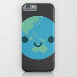 Cute Kawaii Earth iPhone Case