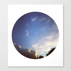Telescope 1 sky planet Canvas Print