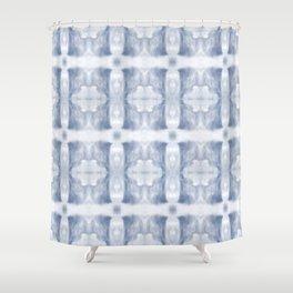 SkyFuzzCloth Shower Curtain