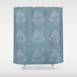 cupcake Shower Curtain