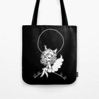 werewolf Tote Bags featuring ▴ werewolf ▴ by PIXIE ❤︎ PUNK
