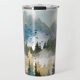 Misty Pines Travel Mug