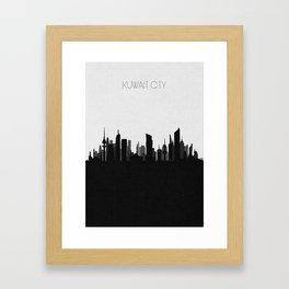 City Skylines: Kuwait City Framed Art Print