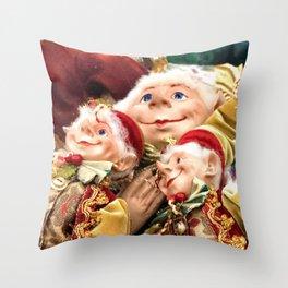 Family Blessings Throw Pillow
