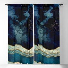 Indigo Sky Blackout Curtain