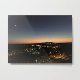 RVA at Dusk Metal Print