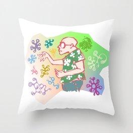 VacciNation Throw Pillow